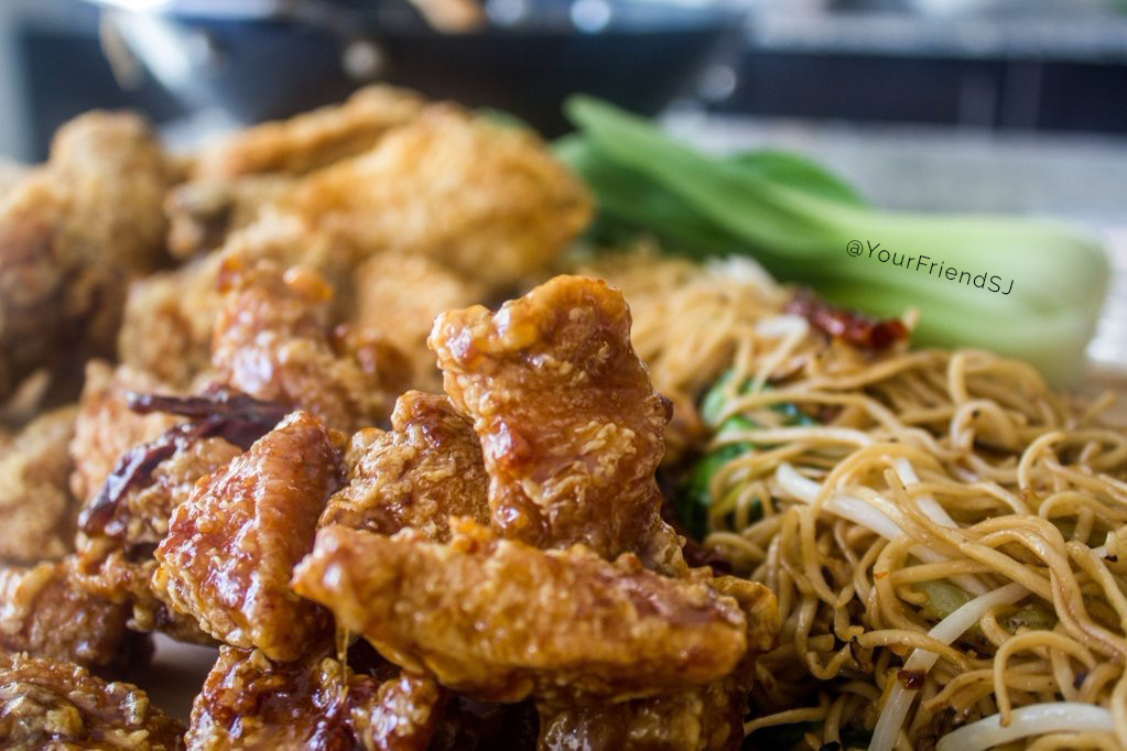 Korean Fried Chicken, Chow Mein, Sweet Chilli Chicken - Life Before Keto