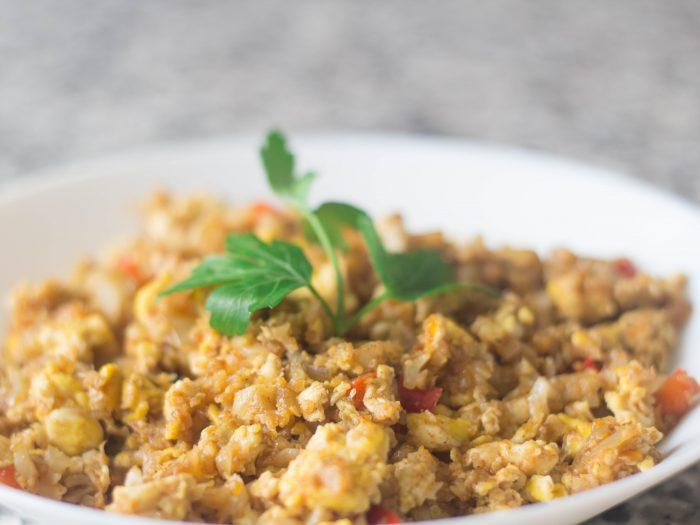 Cauliflower Fried Rice Keto Low Carb