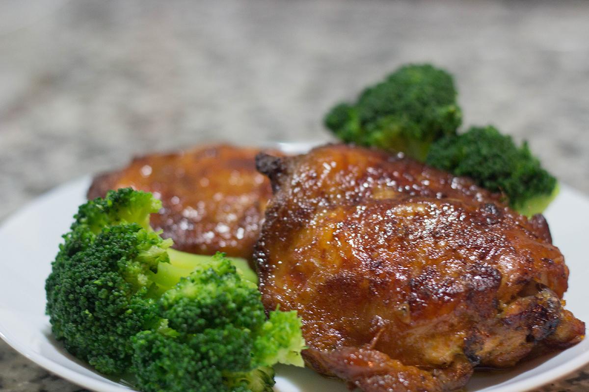 Keto Asian Inspired Chicken Thighs