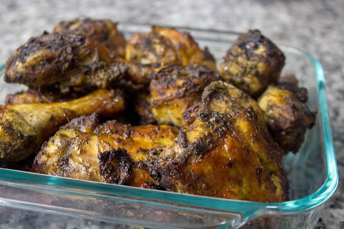 Keto Meal Prep Jerk Chicken