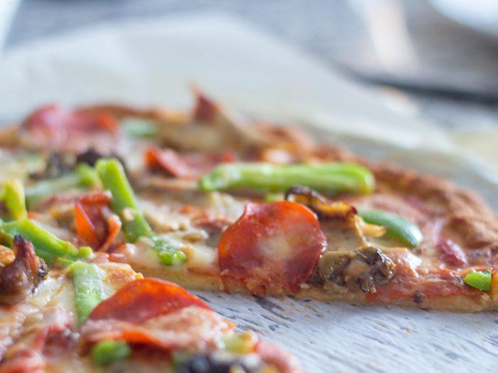 Fathead Pizza Crust - Keto Pizza